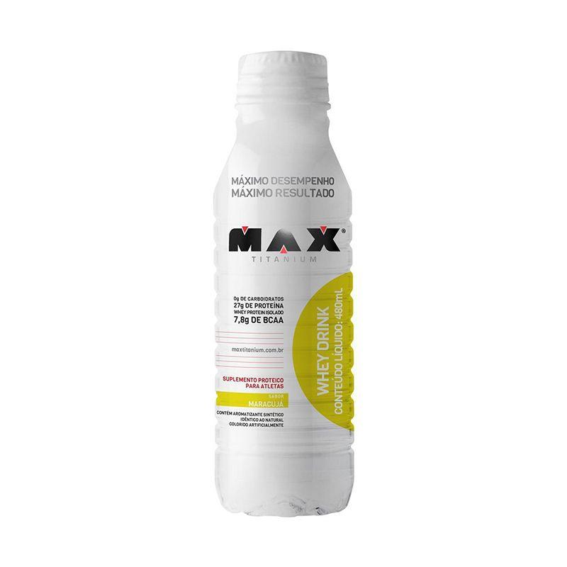 Whey Drink Max Titanium 480 ML