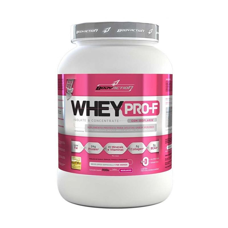 Whey Pro-F Isoflaris Body Action 900 G
