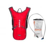 Mochila De Hidratação Curtlo Hydra Thermo 2 Litros Vermelho