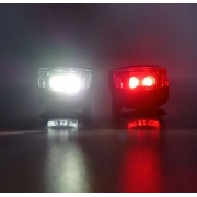Par De Led Sinalizador Bike Mtb Speed Vista Light High One