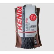 Pneu Mtb Kevlar Kenda Saber Pro Sct 29x2.40 Caffe Skin
