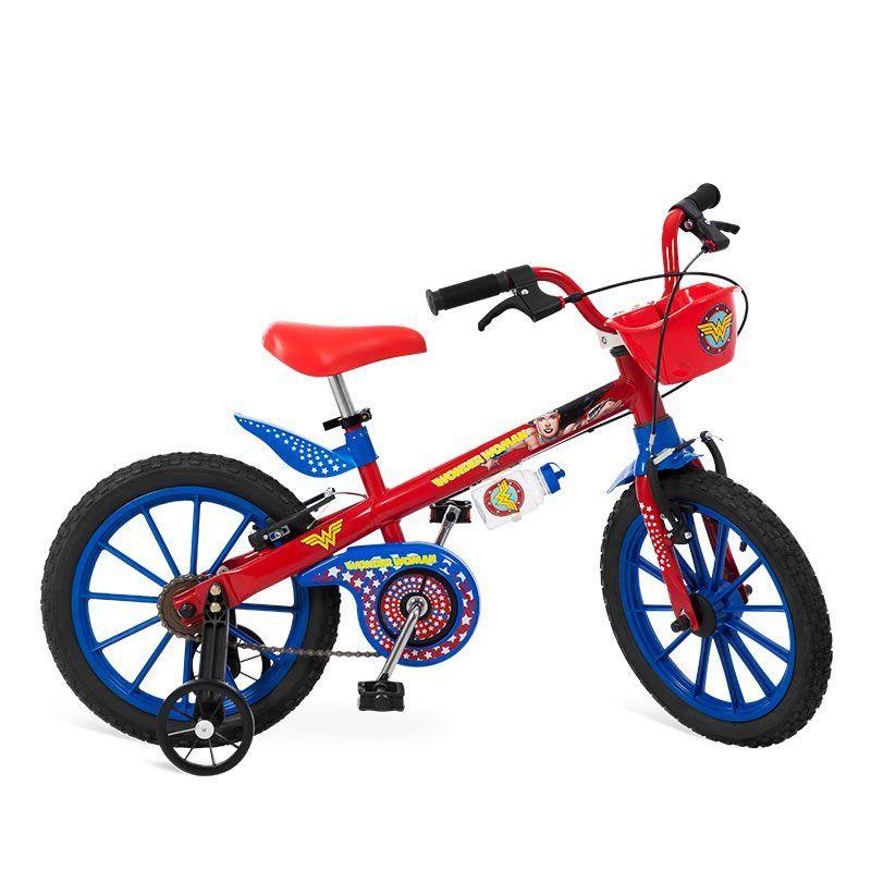 "Bicicleta 16"" Mulher Maravilha LJ"