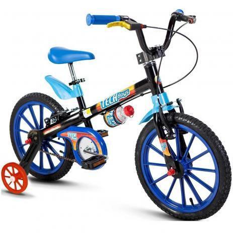 Bicicleta aro 16 tech boys 5 - Nathor