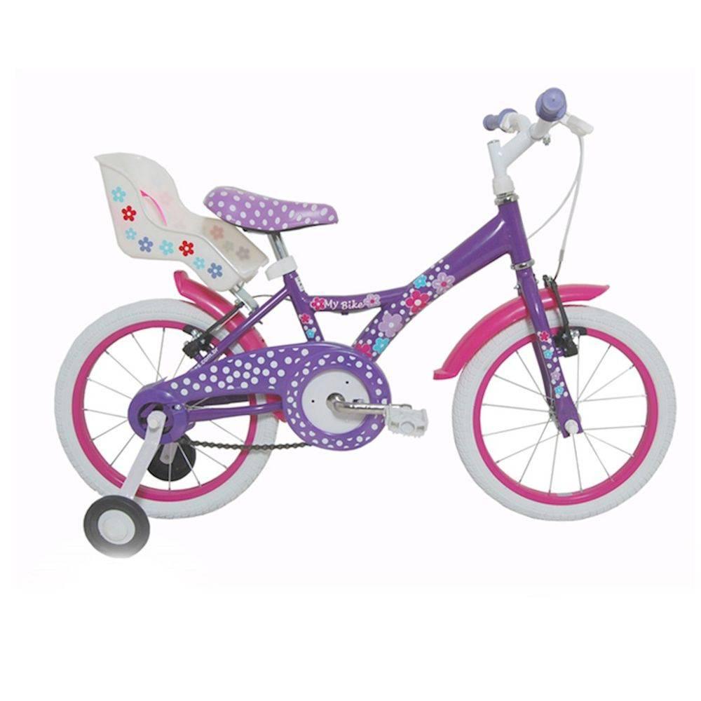 Bicicleta Tito My Bike c/ Cadeirinha Porta Boneca Aro 16