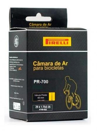 Câmara De Ar Pirelli PR 700 / 700 X 28c / 45c Presta 60mm