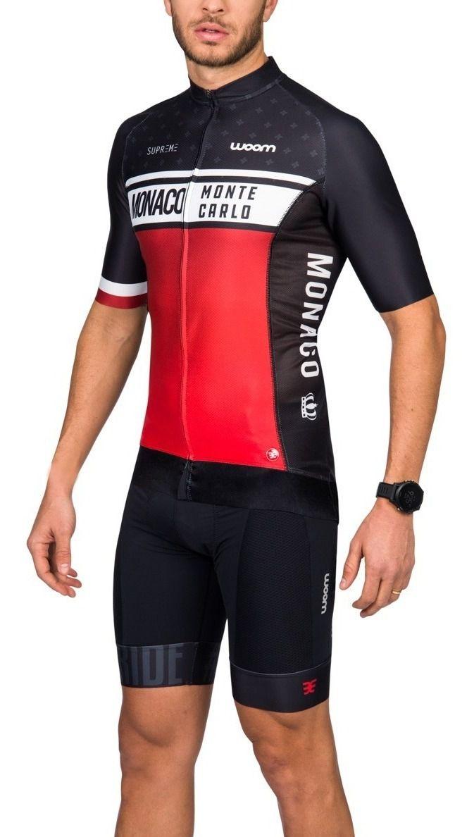 Camisa Ciclismo Supreme Woom Monaco - Masc - 2019