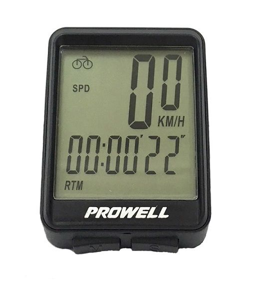 Ciclocomputador Prowell Pw-fw537c Cadência Wireless Sem Fio