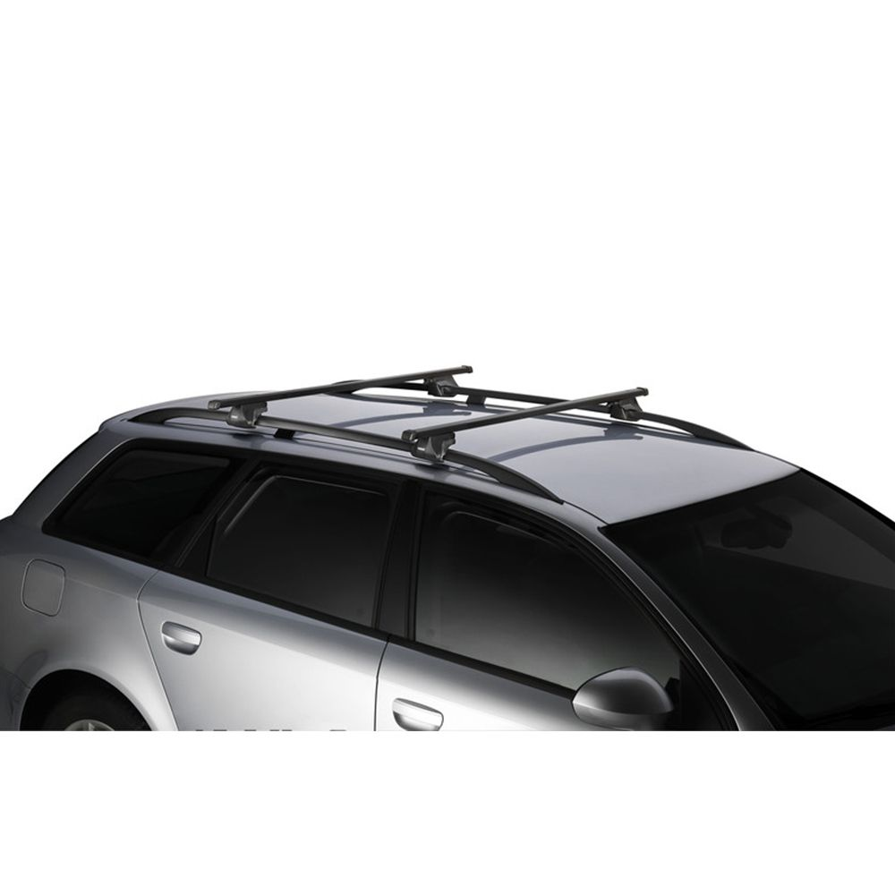 Barra Aço Carbono Retangular - 1200mm 2Pcs - Thule 761