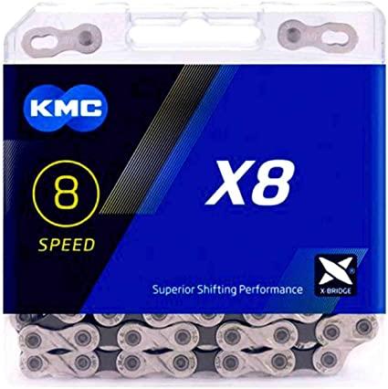Corrente KMC X8 - Prata