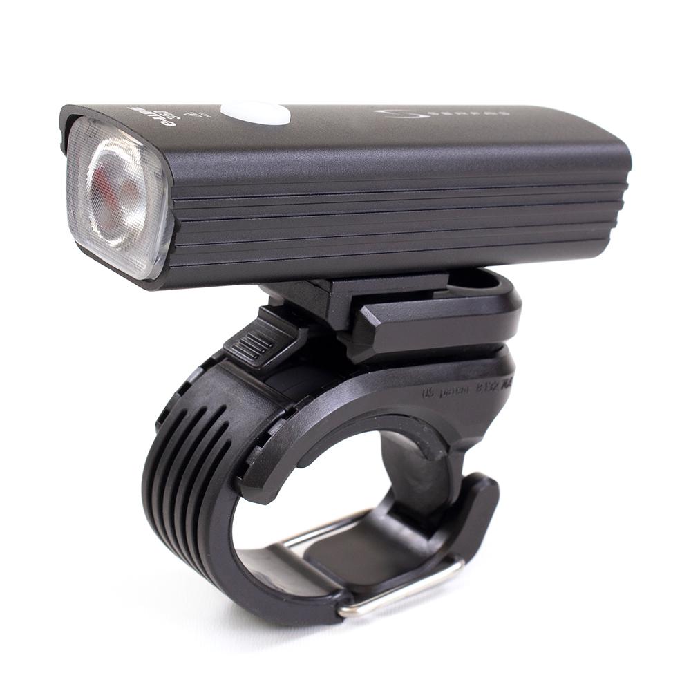 Farol e lanterna Serfas SC-350 E-Lume Combo 350/15