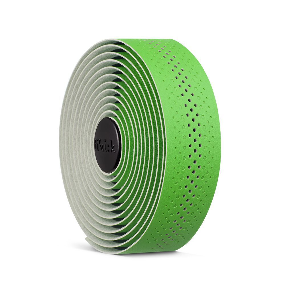 Fita de guidão Fizik Superlight 2mm Thick Verde Maça