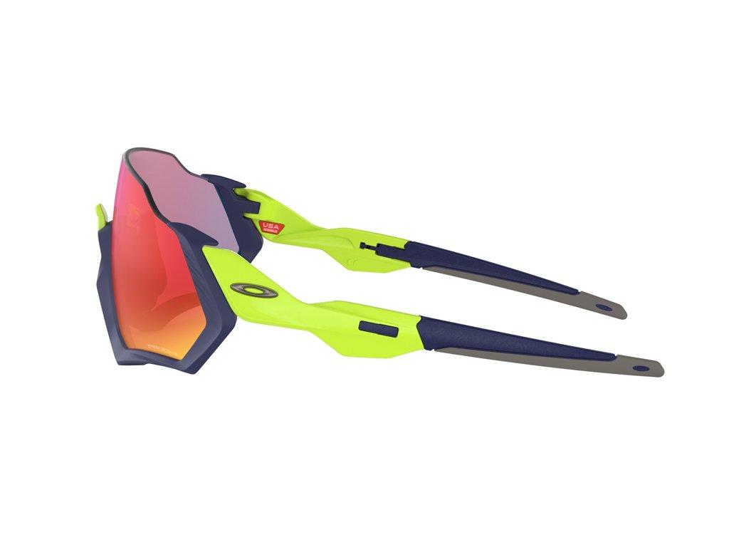 Óculos Oakley Flight Jacket  Navy Retina Burn Prizm Road