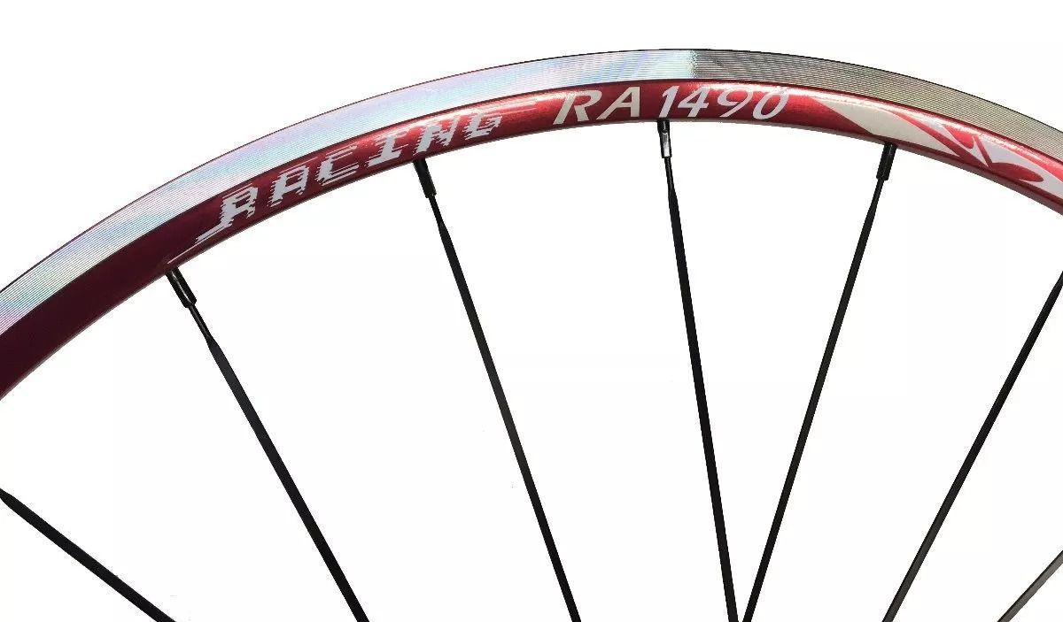 Rodas Vicinitech Speed RA1490 Aro 700 - Vermelha