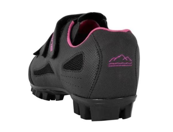 Sapatilha Ciclismo Feminina Mtb High One 3 Velcros