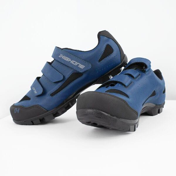 Sapatilha CiclismoMasculina Mtb High One 3 Velcros