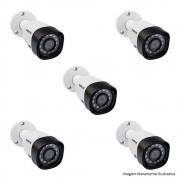 05 Câmera Bullet Infravermelho Multi Hd 4 Em 1 Intelbras Vhd 1010 B G4 Hd 720P 3,6Mm