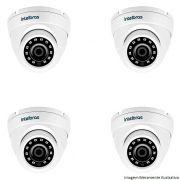 04 Câmera Bullet Infravermelho Multi HD 4 em 1 Intelbras VHD 3120 D G4 HD 720p 2,6mm