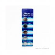 5 Baterias Lithium Cr 2032 3V Utilizada Em Brinquedos, Controles Remotos Fasgold