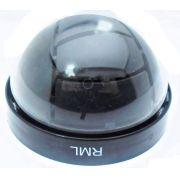 Caixa Mini Dome 4 polegadas Preto Cristal c/membrana para Proteção