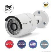 Câmera Bullet Infravermelho Flex 4 em 1 Tecvoz QCB-236 Full HD 1080p 2.0 Mega Pixel