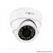 Câmera Dome Inova Mult Hd 1080P 2Mp 3,6Mm Plástico