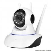 Câmera Ip Robô Ahd Wi-fi Hd 720p 1Mp 3 Antenas Inova
