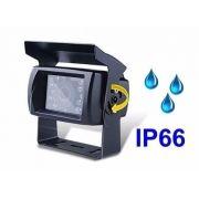 Câmera Ré Veicular Prova D'agua HD De 3,6 Blindada com infravermelho