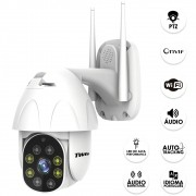 Câmera Speed Dome Wifi IP Externa Onvif 2MP TWG