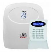 Central de Alarme JFL Active - 8 Ultra V4, Monitorável para até 12 zonas
