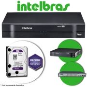 DVR Stand Alone Multi HD Intelbras MHDX-1116 16 Canais + HD 1TB WD Purple de CFTV