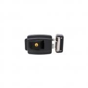 Fechadura Agl Al100R 12V Cinza 42Mm Reversível Chave Simples