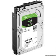 HD SATA3 3TB Barracuda Interno 7200Rpm 64Mb