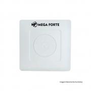 Kit 10 Caixas Organizadoras De Sobrepor Para Esconder Conectores Cftv Mega Forte