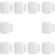 Kit 10 Sensores De Abertura Sem Fio Intelbras Xas 4010 Smart, Frequência 433,92 Mhz, Reed Switch Smd
