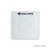 Kit 16 Caixas Organizadoras De Sobrepor Para Esconder Conectores Cftv Mega Forte