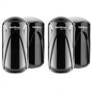 Kit 2 Sensores Barreira Intelbras IVA 3110 X Duplo Feixe Digital