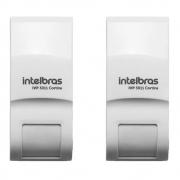Kit 2 Sensores Infravermelho Passivo Intelbras Ivp 3011 Cortina