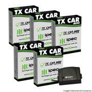 KIT 5 CONTROLES PARA FAROL DE CARRO - TX CAR - 433