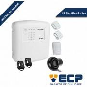 Kit Central de Alarme Alard Max 4 + 1 Câmera VHL 1120B