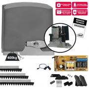 Kit de Motor de Portão Deslizante PPA DZ RIO 400 Analógico POP  3m Rápido 400 Kg 127V / 220V