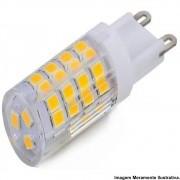 Lampada Led Halopim G9 3,5w Quente 127V