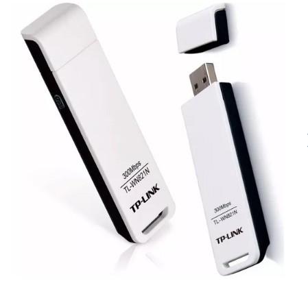 Adaptador Usb Wireless Tp-Link 300Mbps Tl-Wn821N Atheros