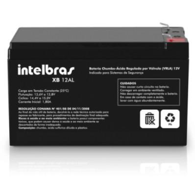 Bateria Selada VRLA XB 12AL Alarme INTELBRAS
