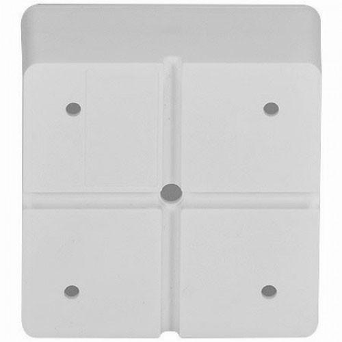 Caixa Organizadora De Sobrepor Para Esconder Conectores Cftv