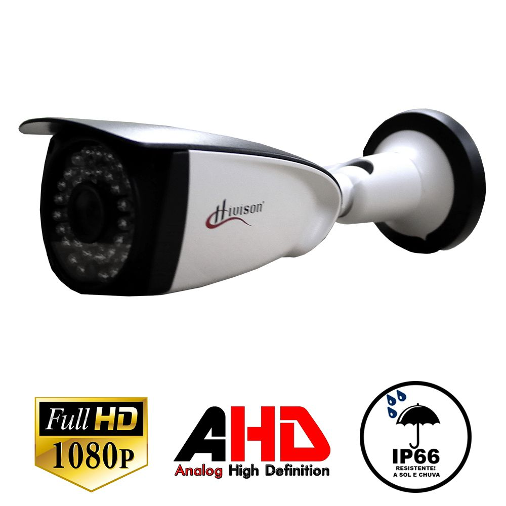 Câmera Bullet Infravermelho  Ahd-H Hivision 2.0 Mp 3,6Mm Fullhd 1080P 102