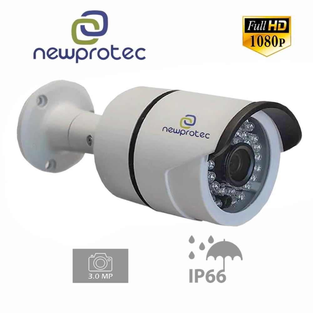 Câmera Bullet Infravermelho Ahd-H Newprotec Np1003 Ir Full Hd 1080P