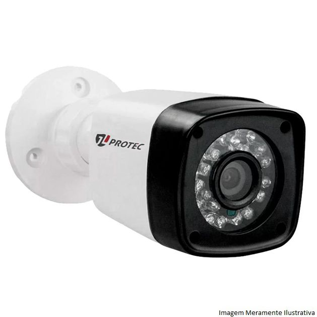 Câmera Bullet Infravermelho AHD-M JL 1010 3X1 2,8MM 1.0 MP