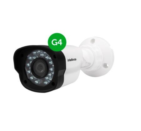 Câmera Bullet Infravermelho Híbrida Intelbras VM 1120 IR G4 - AHD HD 720P e Analógica 900 Linhas