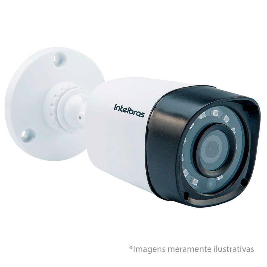Câmera Bullet Infravermelho Multi HD 4 em 1 Intelbras VHD 3120 B G4 HD 720p
