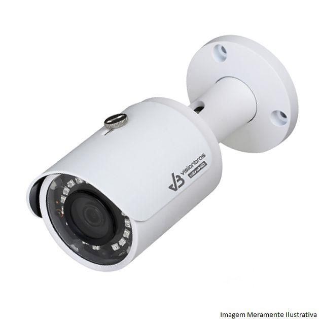 Câmera Bullet Infravermelho Ultra HD 4 em 1 Visionbras HFW1000SN 1Mp HD 720P 3,6MM 30M